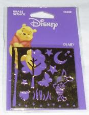 Disney Brass Stencil Template, Piglet, 46620, Winnie The Pooh - Brand New