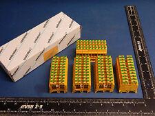 Lot of 50 Entrelec 0165 451 21 Terminal Block M 6/8 PI 6mm 8AWG 016545121