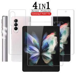 For Samsung Galaxy Z Fold 3 Hydrogel Screen Protector Film 5G HD Clear / Matte