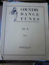 Country Dance Tunes From The English Dancing Master Piano Set X: arr Cecil Sharp