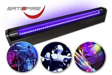 Schwarzlicht LED-UV-Röhre 60cm Komplettset | 10W LED | Bruchsicher | SATISFIRE®