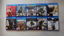 PS4 Game Bundle The Last of Us PS4,Shadow of Mordor,Destiny,Dying Light,Far Cry