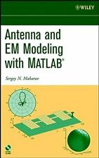 Antenna Modeling w/ws by Makarov  New 9780471218760 Fast Free Shipping+=