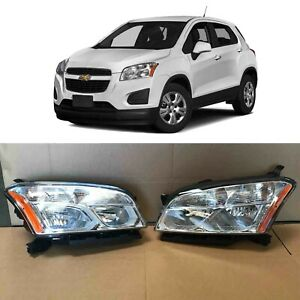 Front Headlamp Set Pair GM2502401 GM2503401 for 2013 2014 2015 2016 Chevy Trax