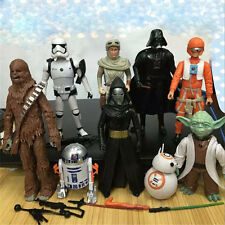 9PCS/SET Star Wars Action Figure Model Gifts Decoration Collection Model Kids