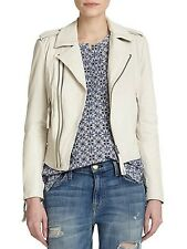 Auth. NWT Joie Ailey Soft Washed LambSkin Leather Jacket Sz. Medium