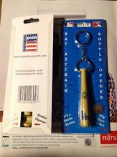 Baseball Bat Bottle Opener Keychain Los Angeles Dodgers MLB Authentic Lot Of 2