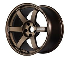 RAYS VOLK TE37 SAGA Forged Wheels Bronze 8.5J-18 +35 for LANCER EVO10 from JAPAN
