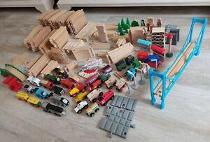☆☆ Holzeisenbahn, Zug, Auto, Kran, Spielzeug, schienen, Lok ☆☆