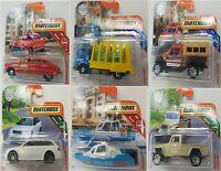 Matchbox Diecast Car Collection Full Range of 24 Vehicles Sports Trucks - New