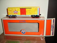 LIONEL #39309 macy's 2008  thanksgivings boxcar