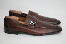 Magnanni 'Lino' Loafer Shoe Slip On - Brown - Size 12 M - 15061 (T58)