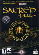 SACRED PLUS Plus+ Role Playing Action PC Game NEW BOX