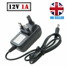 12 Volt 1A Switching Power Supply Adapter DC 12V 1A Charger Wall Plug Universal