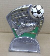 Soccer spinning ball full color resin award trophy Rsls1