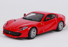 Bburago 1:43 Signature Series Ferrari 812 Superfast Red Diecast Model Racing Car
