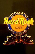 HRC Hard Rock Cafe San Francisco Halloween 1998 Bat Logo LE500