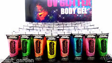 PaintGlow UV GLITTER Face Body Gel Paint lot ❤ Party & Rave ❤ Buy 5 Get 1 FREE