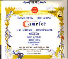 Camelot Original Broadway Cast Julie Andrews CD Frederick Loewe Alan Jay Lerner