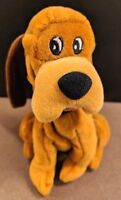 """Exclusive Walt Disney Lady And The Tramp """"TRUSTY"""" Bloodhound Dog Bean Bag Plush"""