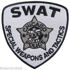 SWAT Team Special Weapons And Tactics Police Army Biker Iron-On Patches #P019