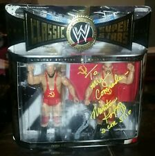 Ivan Nikita Koloff WWE Classic Superstars signed autographed personalized set