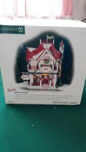 """Dept. 56 North Pole Series - """"Barbie Boutique"""" - #56.56739 - Mint"""