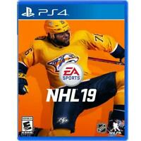 NHL Hockey 19 Video Game Playstation 4 PS4 Brand New Sealed!
