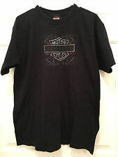 Harley Davidson Motorcycle HD Classic Johnson City TN Black T-Shirt Large