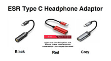 ESR 2-IN-1 USB-C Headphone Jack / Charge Adapter for Android Type-C Phones