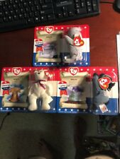 TY Beanie Babies Mac Donald American Trio-retired rare set.