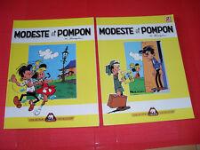 MODESTE & POMPOM T1 & 2 par FRANQUIN  - collection  côte d'or