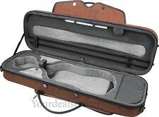 Pedi Violin Case Aluminum Alloy Layer -Brown No shipping for Accessories!!!
