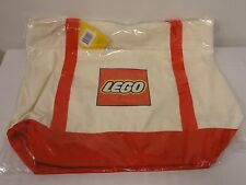 NEW LEGO Canvas Tote Bag 5005326 Exclusive 2017 Promo Free Shipping