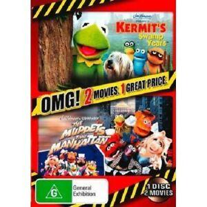 Kermit's Swamp Years + Muppets Take Manhattan (DVD, PAL Region 4) 1 Disc 2 Films