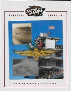 Indianapolis 500 Program - 85th 500 May 27, 2001