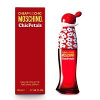 Moschino Cheap and Chic Chic Petals Edt Eau de Toilette Spray 50ml NEU/OVP