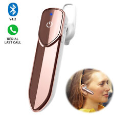 Bluetooth Headset Hands Free Earpiece with Mic for iPhone Samsung LG K50 K40 G6