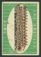 1961 Topps #56 Los Angeles Rams VG/VGEX  C000016739A
