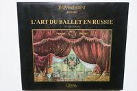Art du ballet en Russie 1738-1940