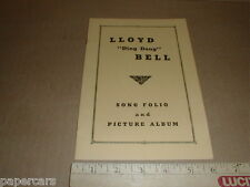 Lloyd Ding Dong Bell Song Picture Album Hillbilly Music WSVA Harrisonburg VA