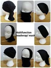 Multifunction bandana head wrap balaclava Turban Chemo Cover Face tube Fishing