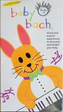 Baby Einstein Baby Bach Visual & Musical Experiences VHS Sealed NEW