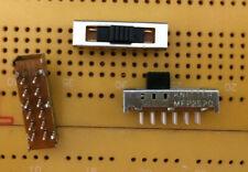 PCB Slide Switch 2 Pole 5 Position Miniature Knitter MFP2520 Multi Qty