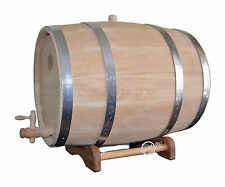 8 Gallon / 30 Liter NEW NOW THICKER WOOD Europe Oak Rum Whiskey Barrel Beer Wine