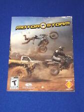Motorstorm Original Manual Instruction Book Sony Playstation 3 PS3