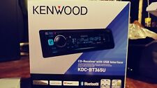 New listing Kenwood Kdc-Bt365U Car Stereo Cd Player, Bluetooth, Am/Fm, Usb, Aux