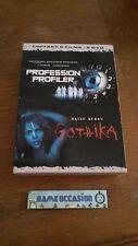 COFFRET 2 FILMS  : PROFESSION PROFILER / GOTHIKA /   DVD VIDEO  FILM PAL