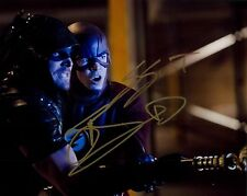 GRANT GUSTIN + STEPHEN AMELL  signed 8x10 autograph photo W/COA  ARROW THE FLASH