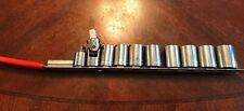 Craftsman 10 Piece Socket Set Assorted